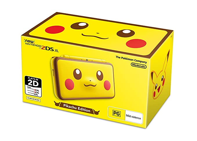 New Nintendo 2ds Xl Pikachu Edition Amazon Com Au Video Games