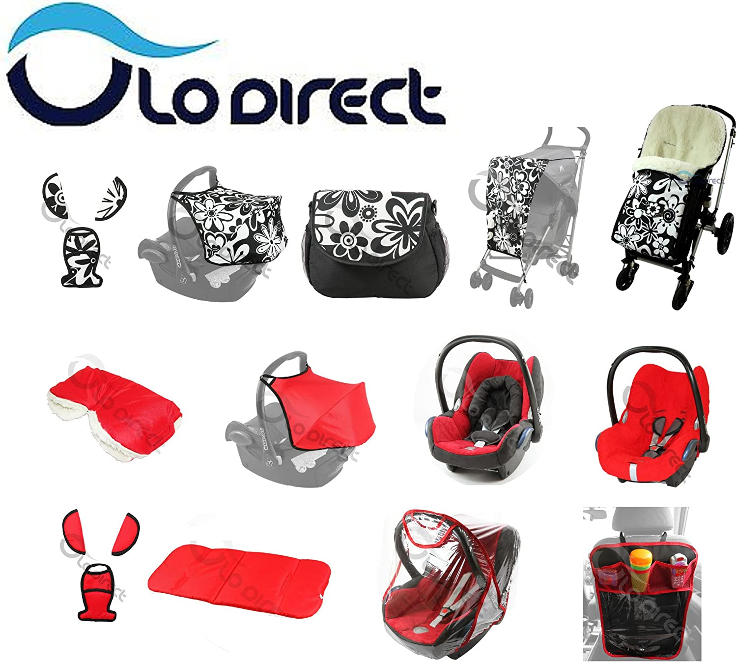 Infant Seat Replacement Cover fits Maxi-Cosi CabrioFix Group 0 Pattern 150