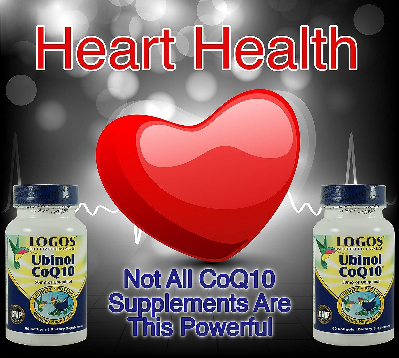 Amazon.com: Logos Nutritionals - Ubinol CoQ10 60 unidades ...