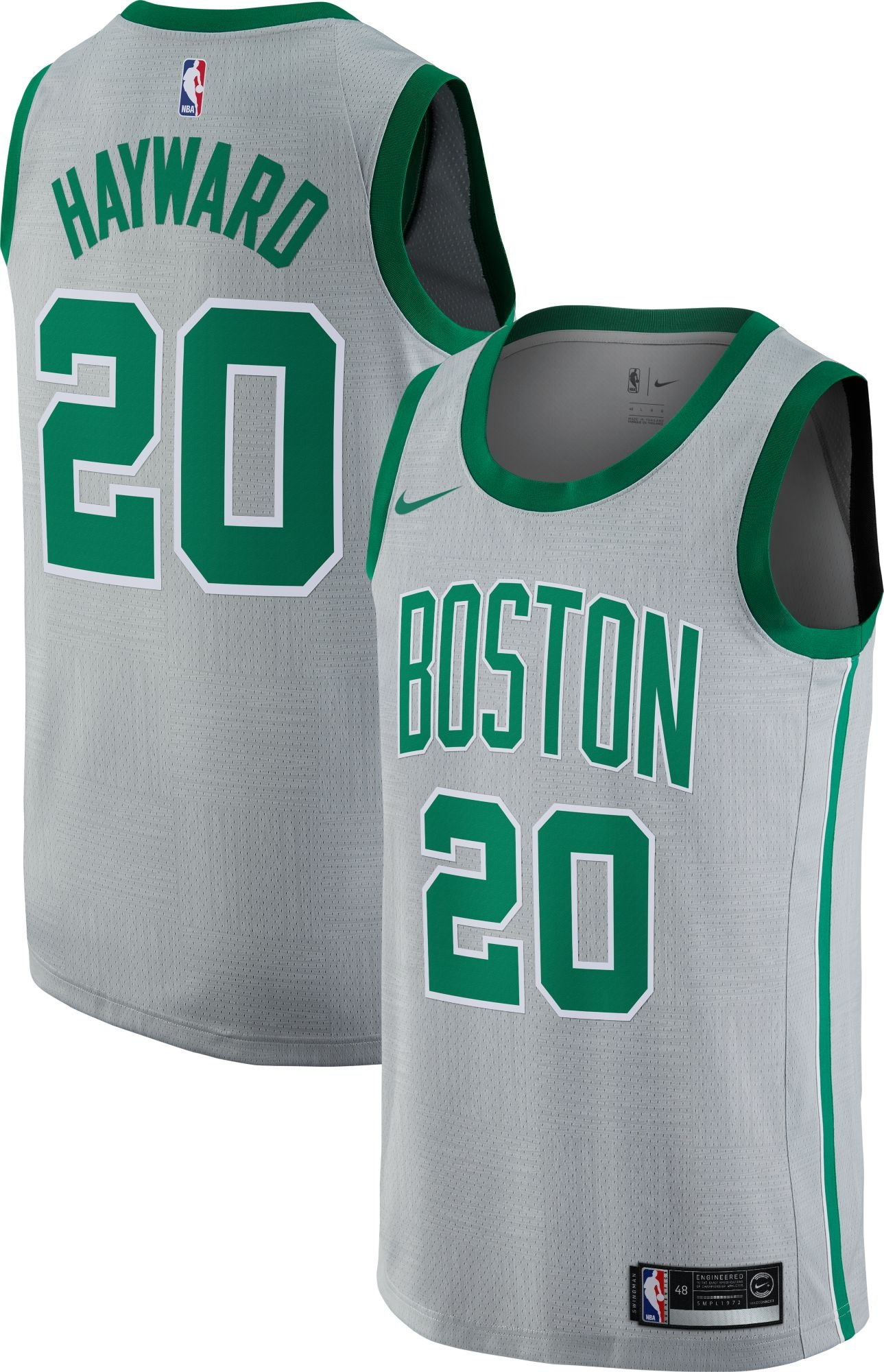 NIKE NBA Boston Celtics Gordon Hayward Swingman Alternate Game Jersey 5161ee155
