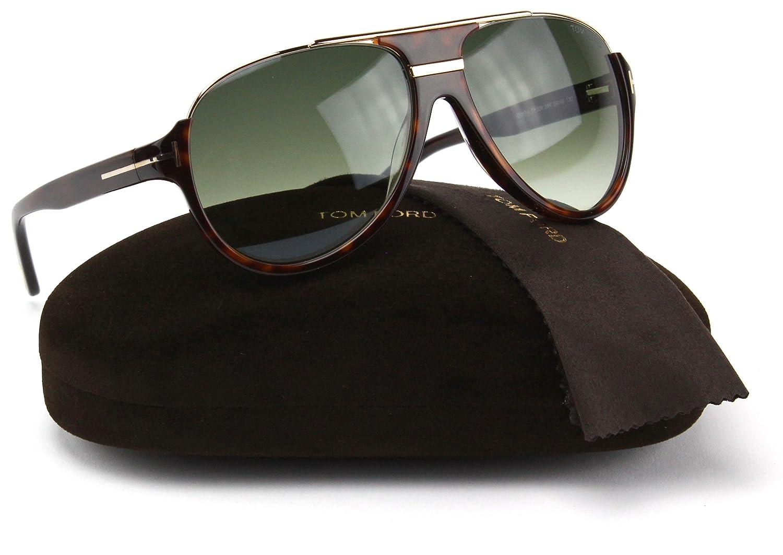 905ccb67f5c Amazon.com  Tom Ford FT0334 Dimitry Sunglasses FT334 Havana Frame    Gradient Roviex Lens (056K)  Clothing