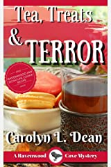 TEA, TREATS, and TERROR: A Ravenwood Cove Cozy Mystery (book 9) Kindle Edition