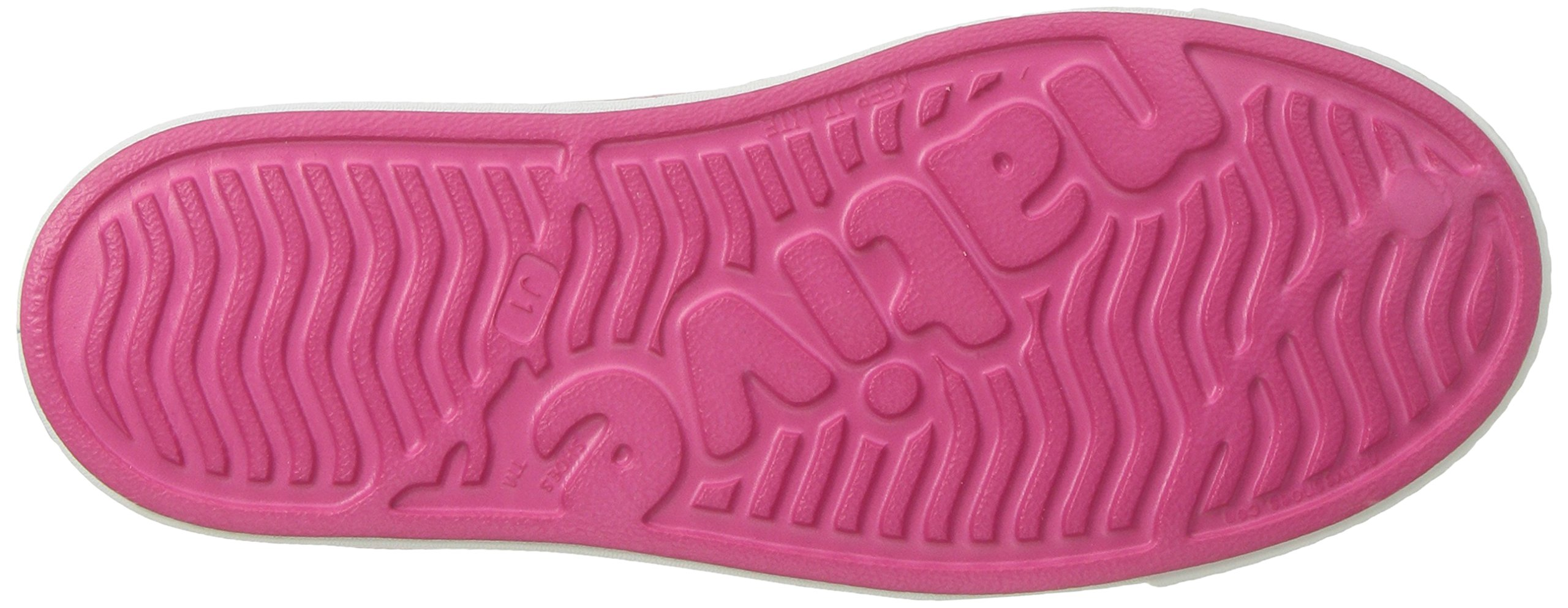 Native Kids Girls Jefferson Junior Water Proof Shoes, Hollywood Pink/Shell White, 6 Medium US Big Kid by Native Shoes (Image #3)