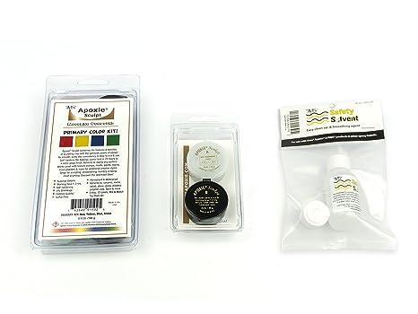 Kit de color primario de bonificación: 1 juego de esculpir de apoyo (rojo,