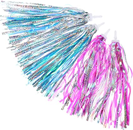 Handlebar Tassels Streamers Tassel Ribbons Accessories Scooter Colorful New