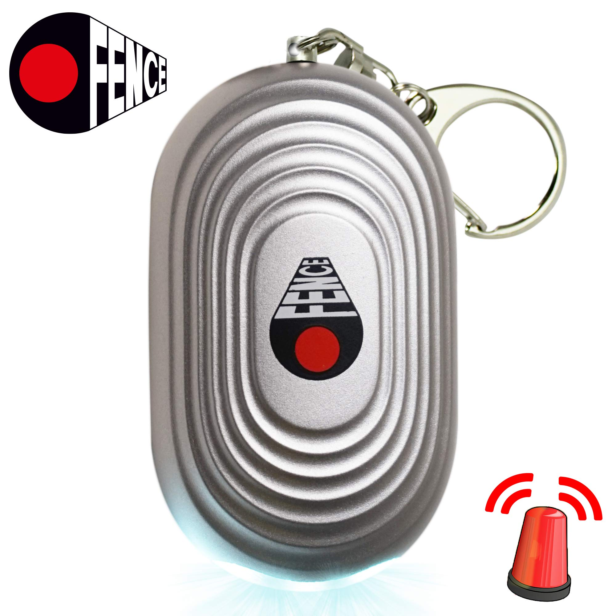 5b9e44fc6fe743 Details about Personal Alarm Keychain - Self Defense and Safesound Security  Emergency 130dB