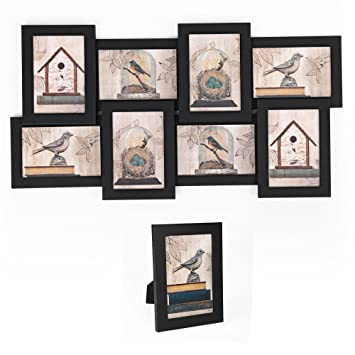 Amazoncom Songmics Picture Frames Collage For 8 Photos In 4 X 6