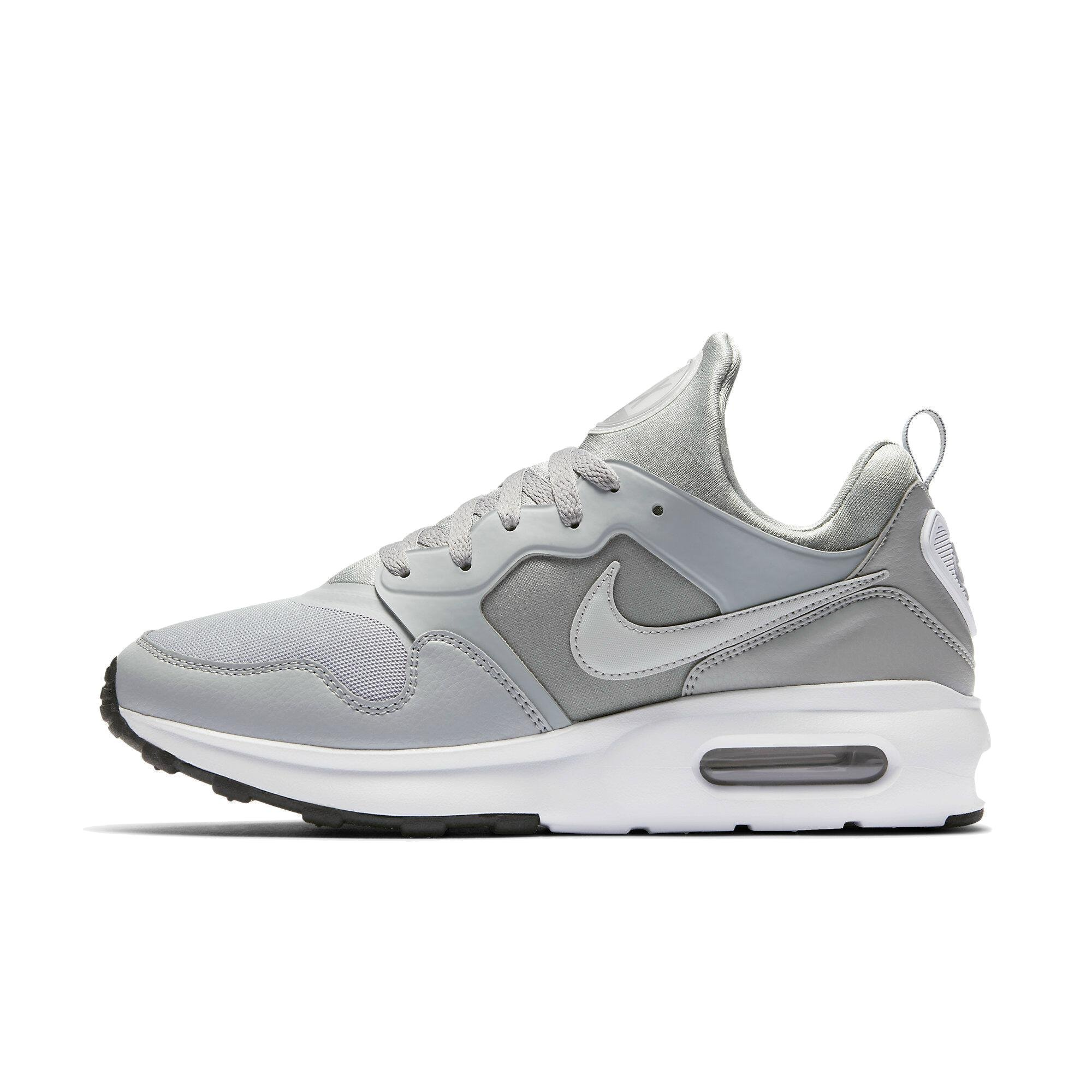 5a147f5afe3a Galleon - NIKE Mens Air Max Prime Running Shoe Wolf Grey Wolf Grey-White 11
