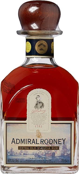 Admiral Rodney mit Geschenkverpackung Rum (1 x 0.7 l): Amazon ...