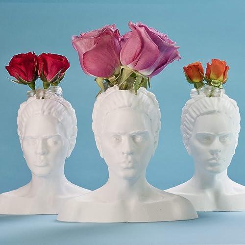 ItemsByRose Artist Collection Vases Frida Kahlo 6