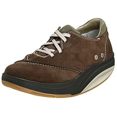 0148296afe69 MBT Women s Barabara Leather Textile Barefoot Walking Shoes (4UK   37EUR