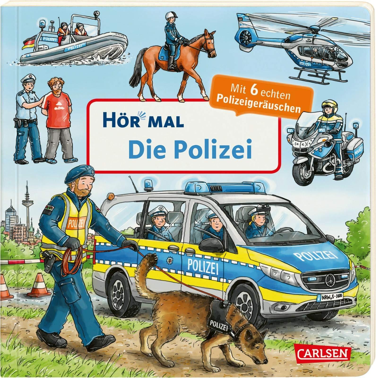 Hör Mal  Soundbuch   Die Polizei