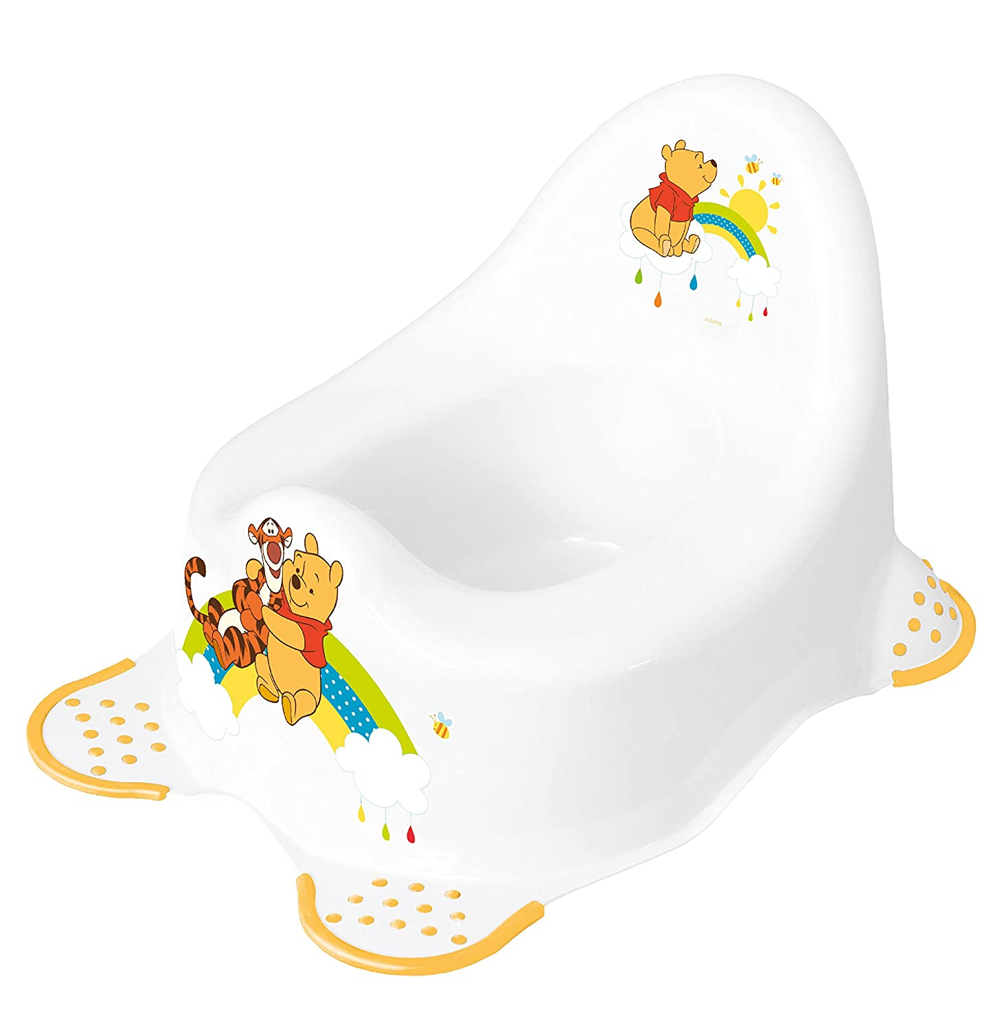 Disney Baby Winnie The Pooh Steady Potty with Non Slip Feet  sc 1 st  Amazon UK & Disney Baby Winnie the Pooh Step Stool with Non Slip Feet: Amazon ... islam-shia.org