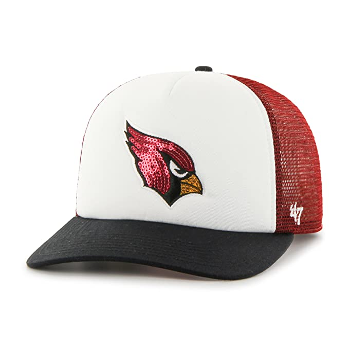 buy popular 674c8 6ad54  47 NFL Arizona Cardinals Women s Glimmer Captain CF Strap Hat, Women s,  Razor Red