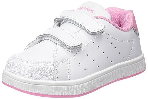 Conguitos Deportivos Colegio Niña Piel - Zapatillas para niñas, Color Rosa, Talla 24: Amazon.es: Zapatos y complementos