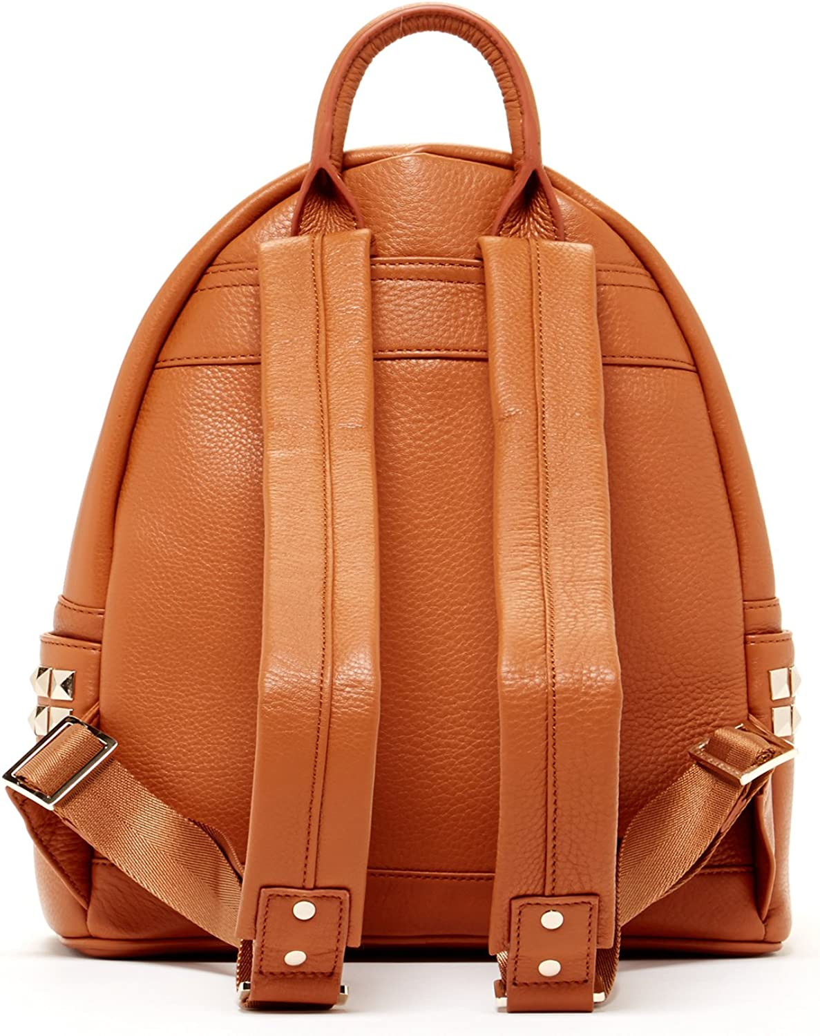 B01FQ3KMP8 SUSU Brown Pebble Leather Backpack Bags For Women Cute Designer Handbags With Studs and Front Pocket Travel Fashion Backpacks Purses With Side Pockets Quality Rucksack Girlfriend or Wife Birthday Gift 71NOK2B4pi-L.UL1500_