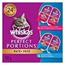Whiskas Perfect Portions Food Trays for Cats - Salmon - Whitefish & Tuna - 75g (12 Pack)