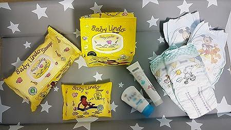 Baby Lindo Toallitas para Bebe, Spunlace, Multicolor, Talla Unica, 8 ...