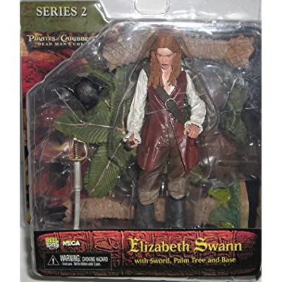 NECA Pirates of the Caribbean Dead Man's Chest Series 2 Action Figure Elizabeth Swann: Toys & Games