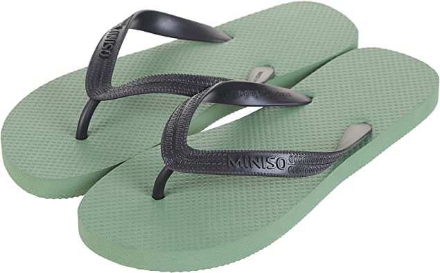 Miniso Men's Fashionable Flip Flops 43/44