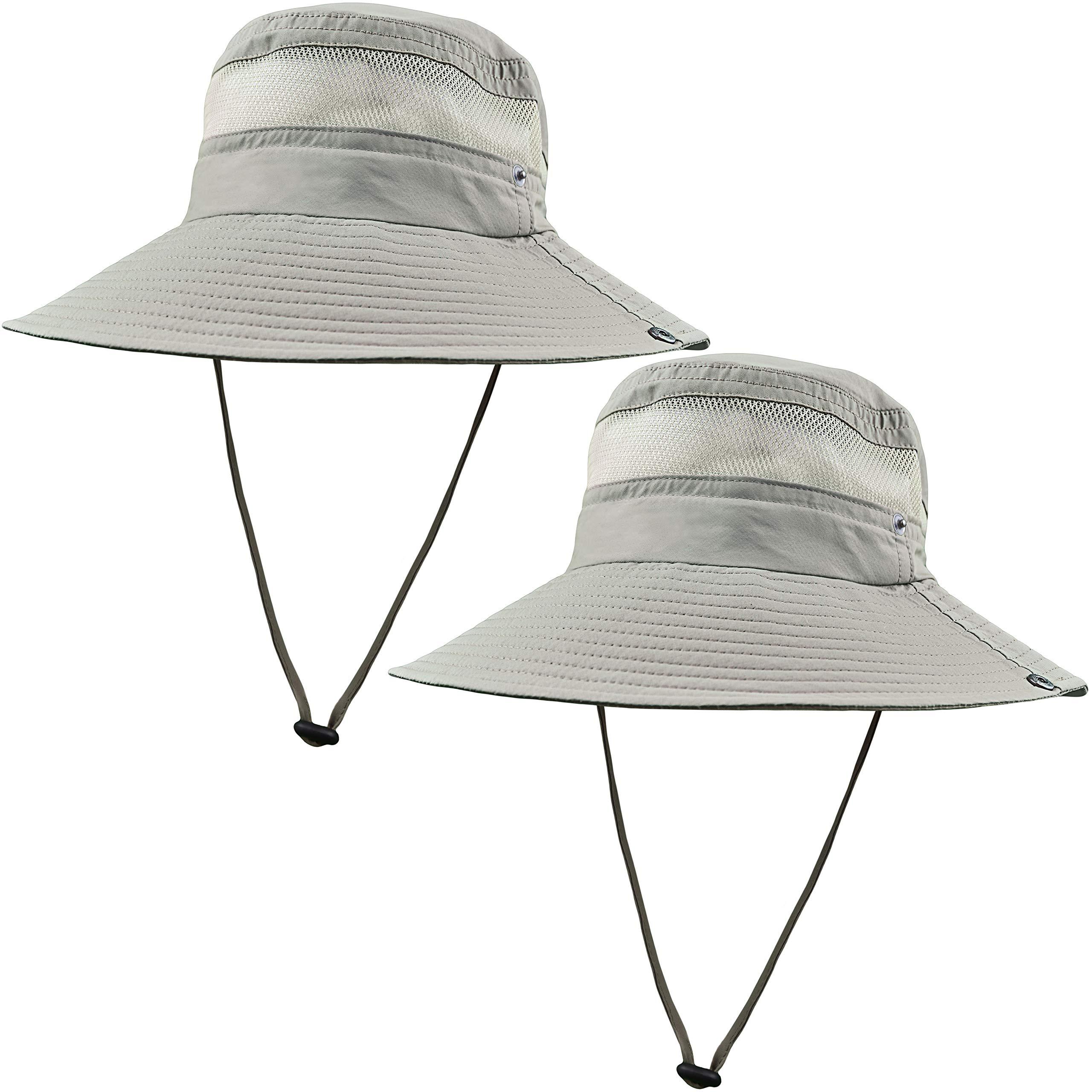 GearTOP Fishing Hat (Khaki - 2 Pack)