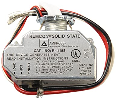 81SrO3dtE7L._SX385_ amprobe r 115s remcon relay switch automotive electrical system remcon relay wiring diagram at n-0.co
