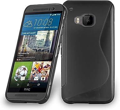 Cadorabo HTC One M9 Plus/One ME Funda de Silicona TPU DISEÑO S en ...