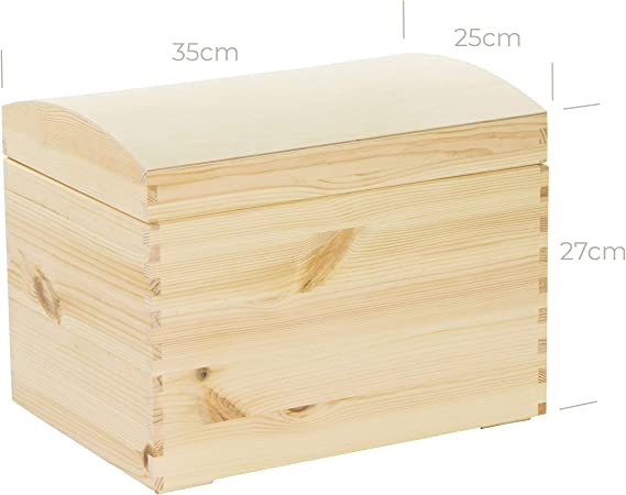 Holz Kiste Holzbox 25cm x 35cm Descoupage Dekoration