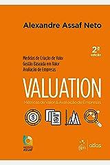 Valuation - Métricas de Valor & Avaliação de Empresas: Métricas de Valor e Avaliação de Empresas Capa comum