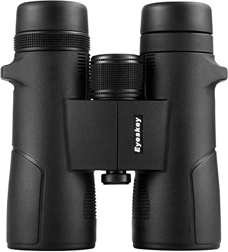 Eyeskey 10×42 Binoculars for Adults with Durable Magnisum Alloy Housing, HD BaK-4, Large Eyepiece, Ideal Choices for Wildlife Viewing, Outdoor Travelling, Hiking
