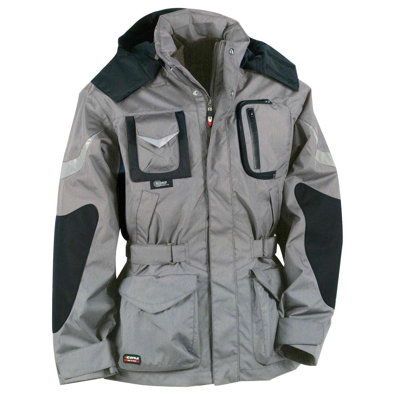 colore: grigio//nero Cofra Icestorm 40-00V00601-44 Giacca invernale da lavoro