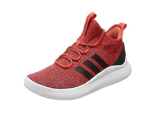 wholesale dealer d9c1f 0504c adidas Herren Cloudfoam Ultimate Bball Fitnessschuhe Rot  (RoalreNegbasFtwbla 000) 40