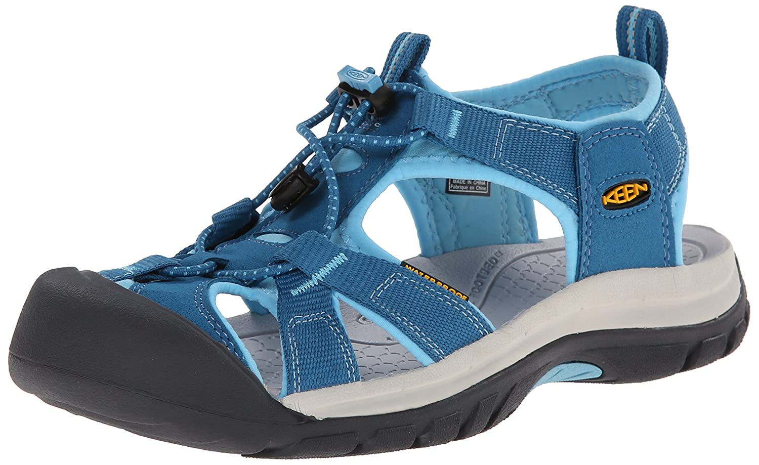 KEEN Women's Venice H2 Sandal B00M0KAL7U 9 B(M) US|Celestial/Blue Grotto