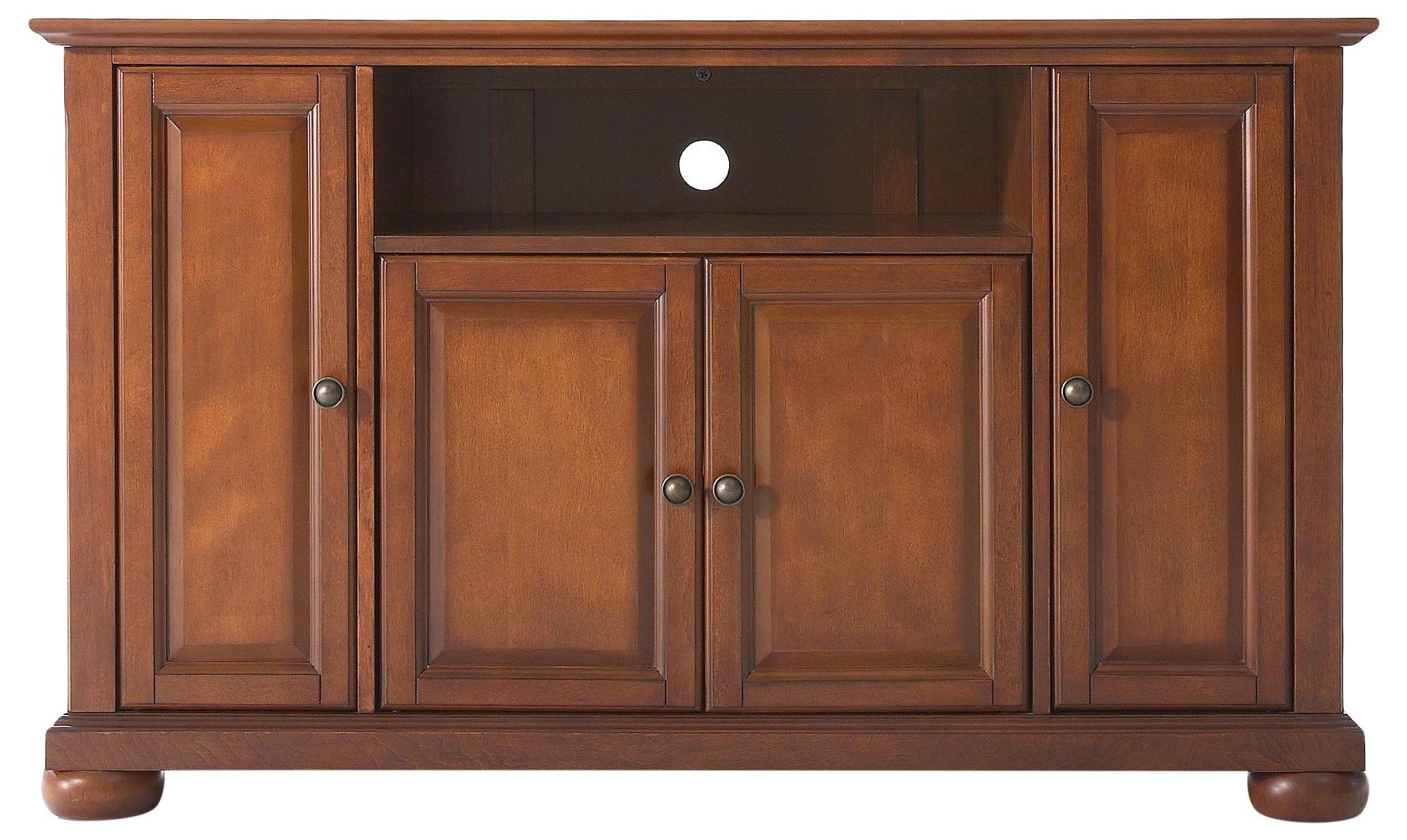 Crosley Furniture Alexandria 48-inch TV Stand - Classic Cherry by Crosley Furniture