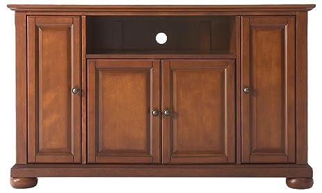 Crosley Furniture Alexandria 48 Inch TV Stand   Classic Cherry