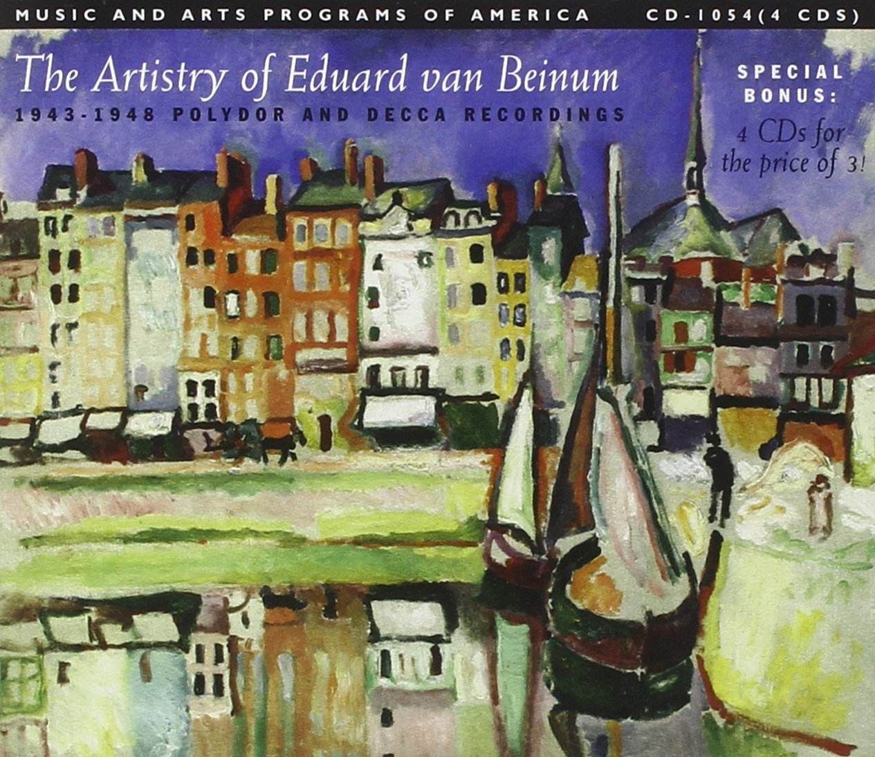 Popular brand in the world The Artistry New life of Eduard van Beinum and Polydor 1943-1948 R Decca