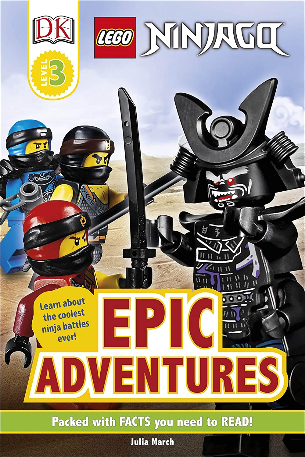 LEGO NINJAGO Epic Adventures (English Edition) eBook: Julia ...