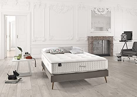Dupen Platinum - colchón de micromuelles ensacados - Lana Virgen y algodón Natural - camasymas (