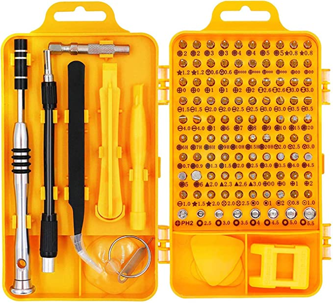 33pcs Car Repair Set Extension Holder Magnetic Security Screwdrivers Portable