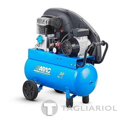 Abac Pro a29b 50CM2Compresor profesional-50L Aire Comprimido Motor 2HP