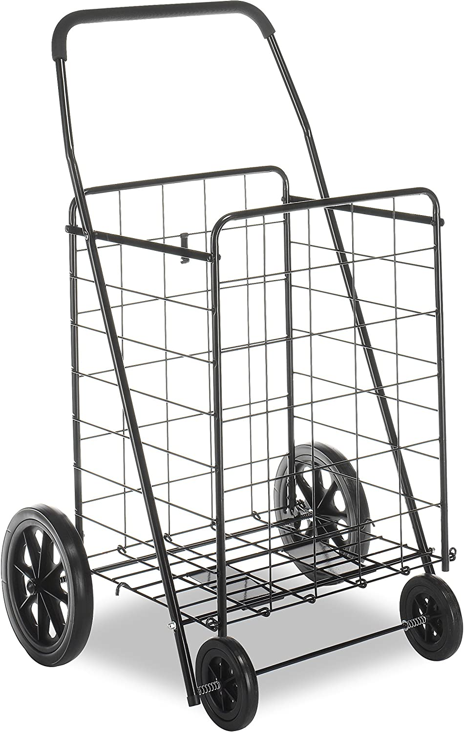 Whitmor Deluxe Utility Cart, Extra Large, Black