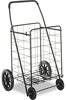ca44cf50b9cd Whitmor FBA 6318-2678 Deluxe Utility Cart-Durable Folding Design for Easy  Storage