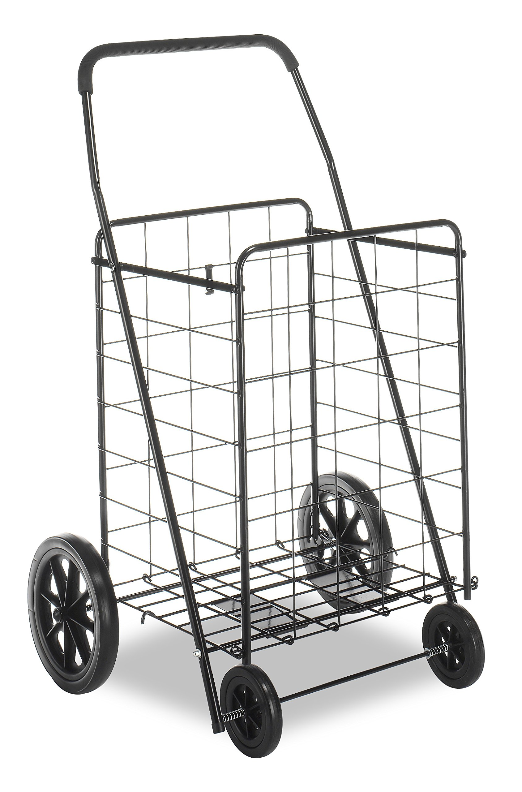 Whitmor Deluxe Utility Cart, Extra Large, Black by Whitmor