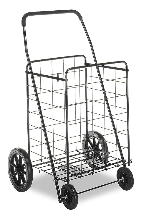 Amazon.com: Whitmor carrito de la utilidad, Acero, Extra ...