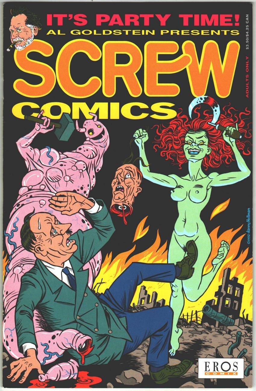 Screw Comics 1 Comics – 1992