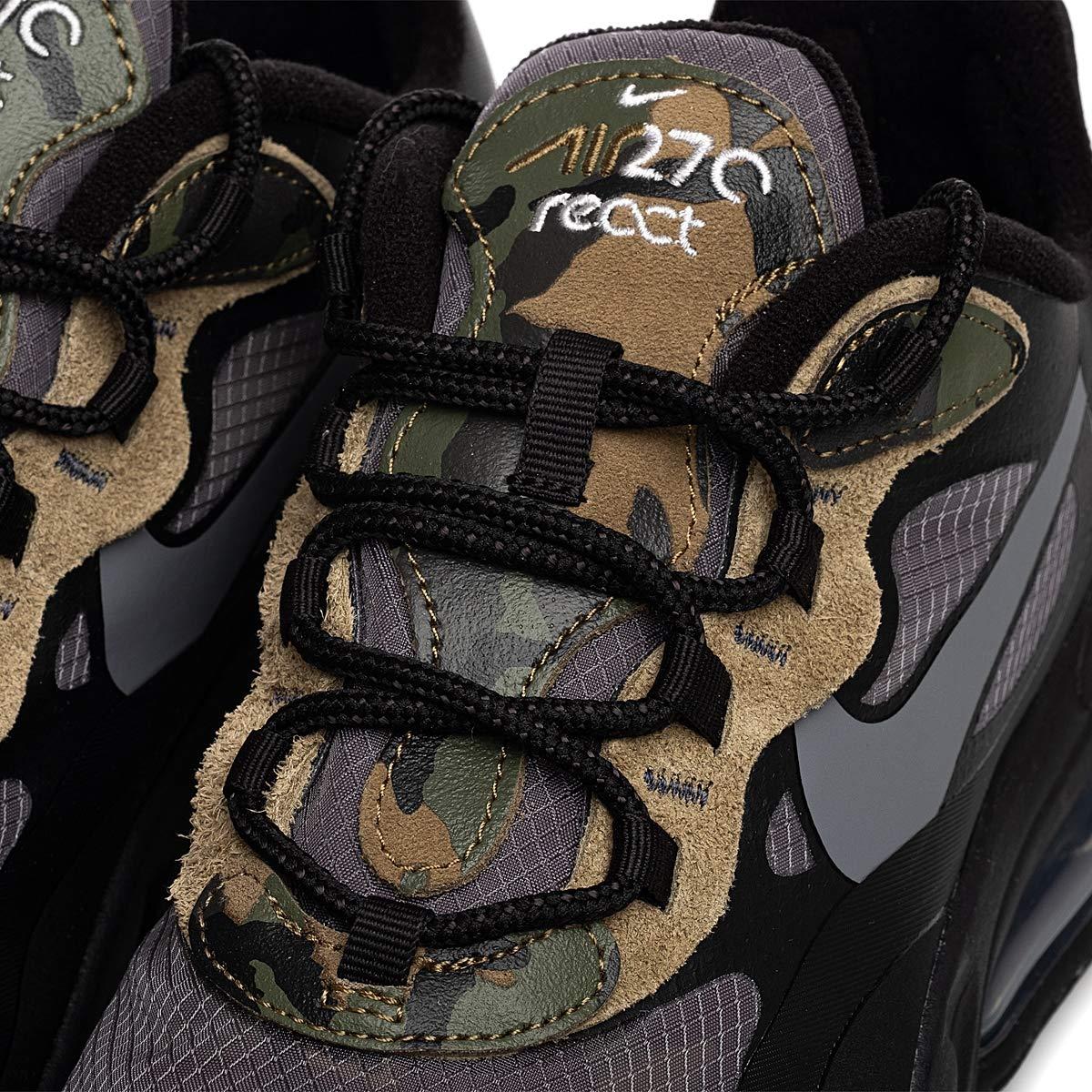 Nike Air Max 270 React New Color React ELECTRO GREEN Scarpe da corsa casual di alta qualità Uomo Sport Scarpe da ginnastica da uomo Sneakers Formato