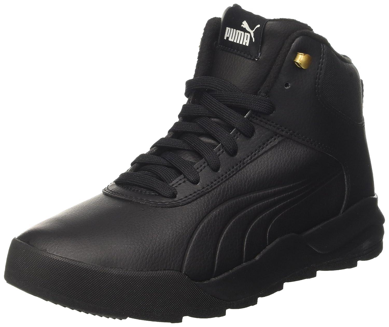 Puma Unisex-Erwachsene Desierto Sneaker L Hohe  38 EU|Schwarz (Black-black)