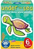 Orchard Toys Under the Sea 2-3 Piece Puzzles, 6 Count