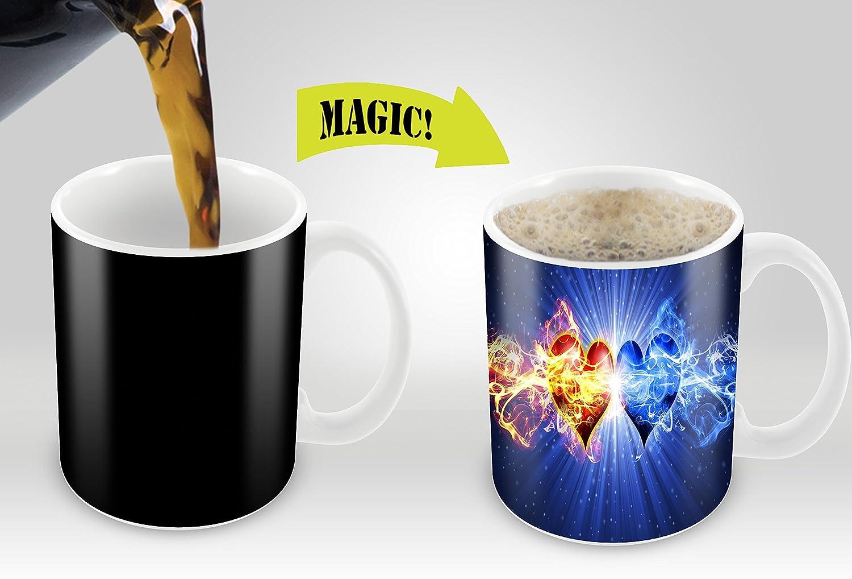 Amazoncom Heat Sensitive Mug Color Changing Coffee Mug Funny