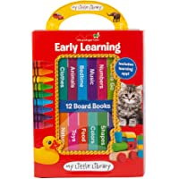 My Little Library: Early Learning - First Words (12 Board Books & Downloadable App!)